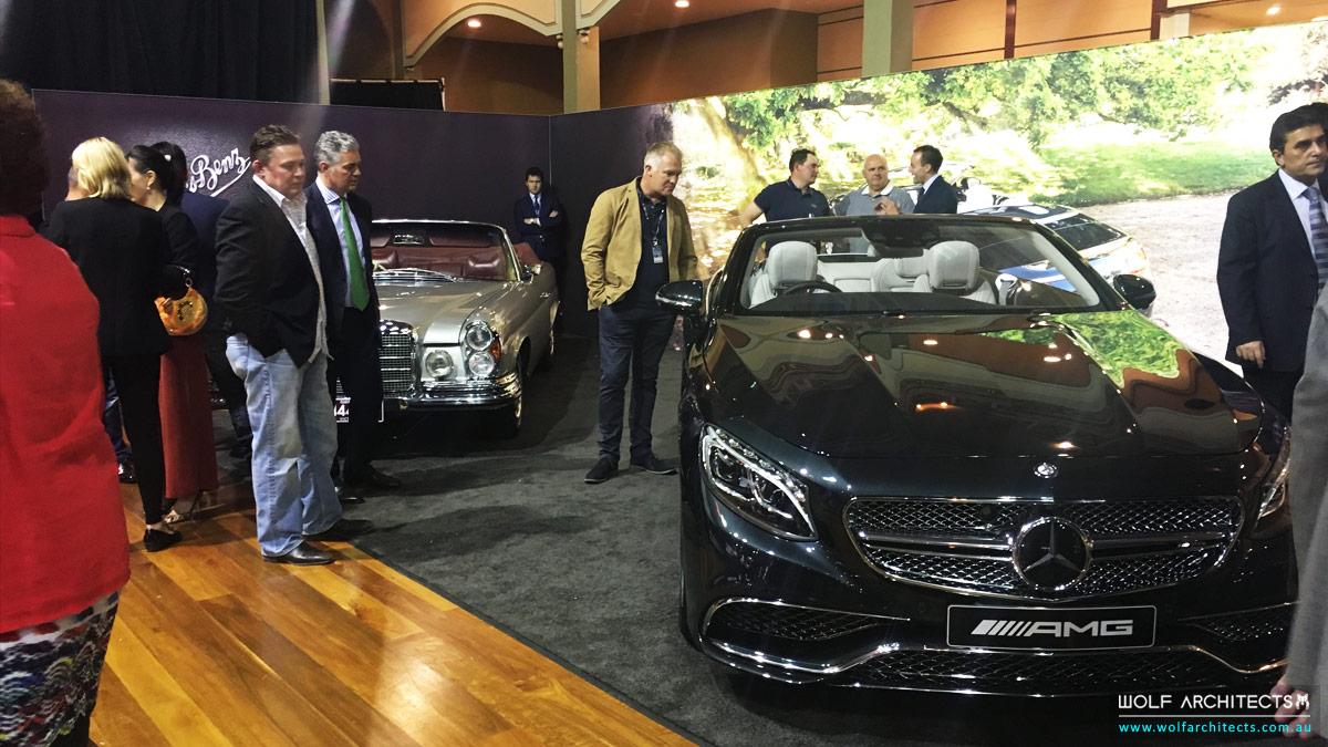 Motor classica Mercedes Benz