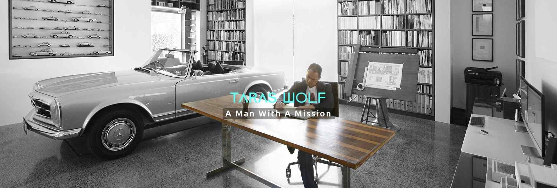 Taras Wolf at work