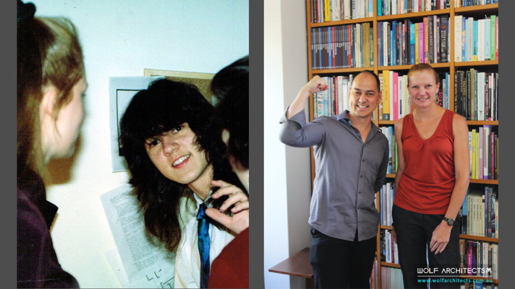 Taras Wolf and Francesca Black