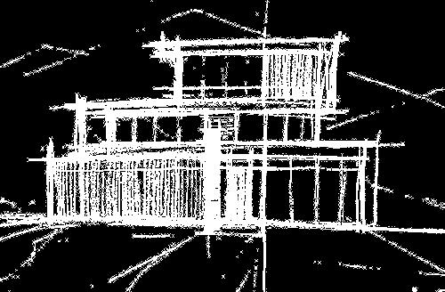 Trewin house sketch