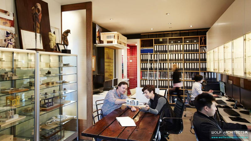 Wolf Architects Working Office
