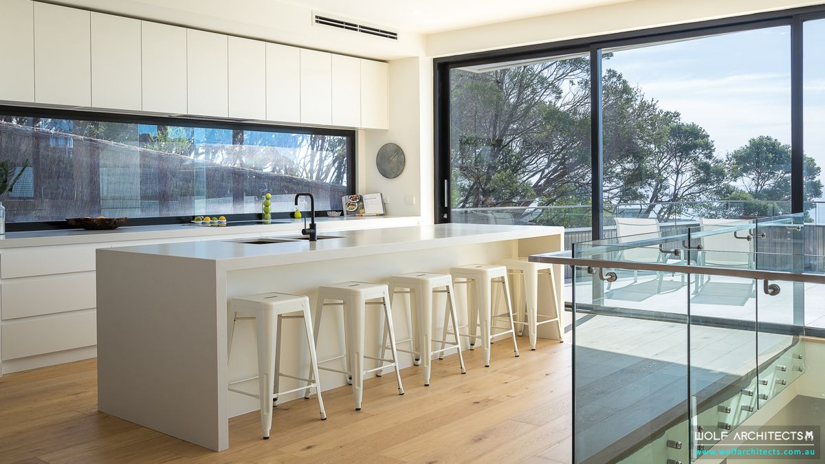 Mount Martha House Kitchen by Wolf Architects