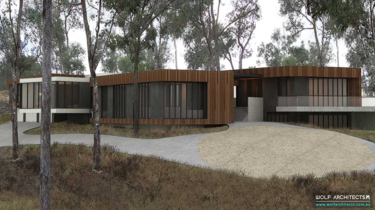 country research centre by Wolf Architects