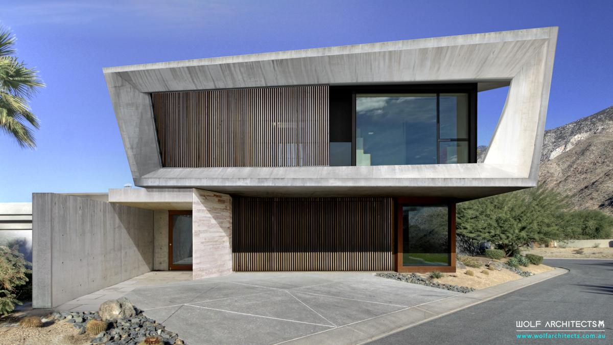 Shape house by Wolf Architects
