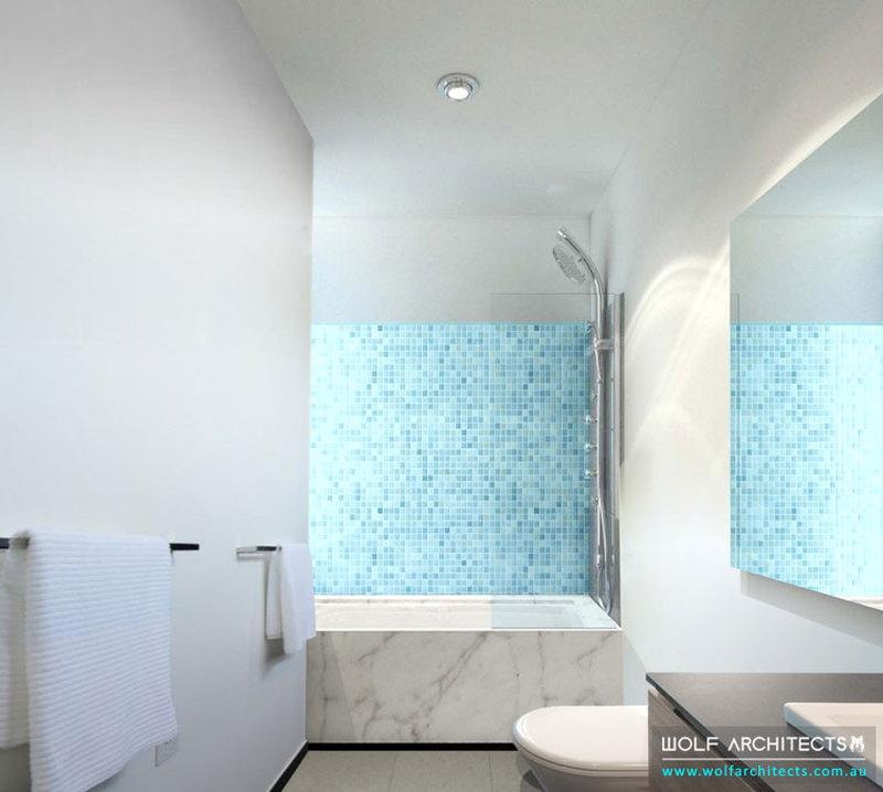 Wolf Apartments Living Bathroom