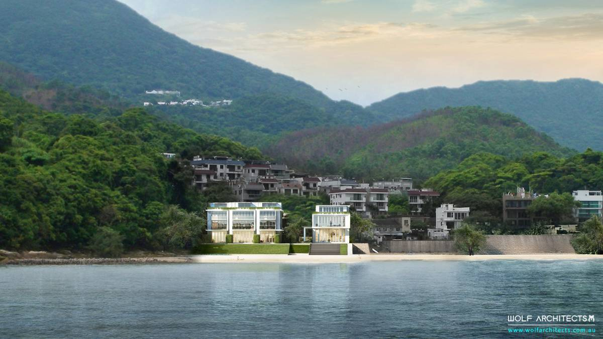 Hong Kong Multi residential contemporary beach project