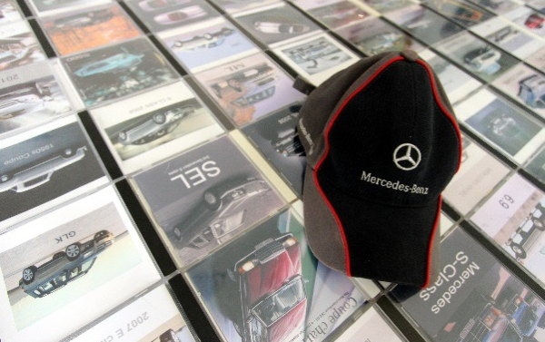 Taras CDs and Mercedes hat