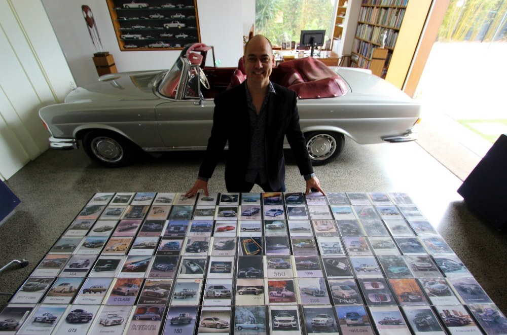 Taras and his CD collection