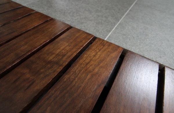 Timber floor grates