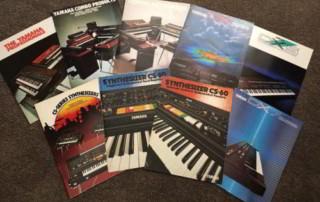 Rare Yamaha synthesizer brochures