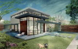 Artists impression of a feng shui home