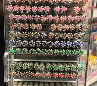 Pigma pens colour display