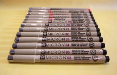Pigma pens