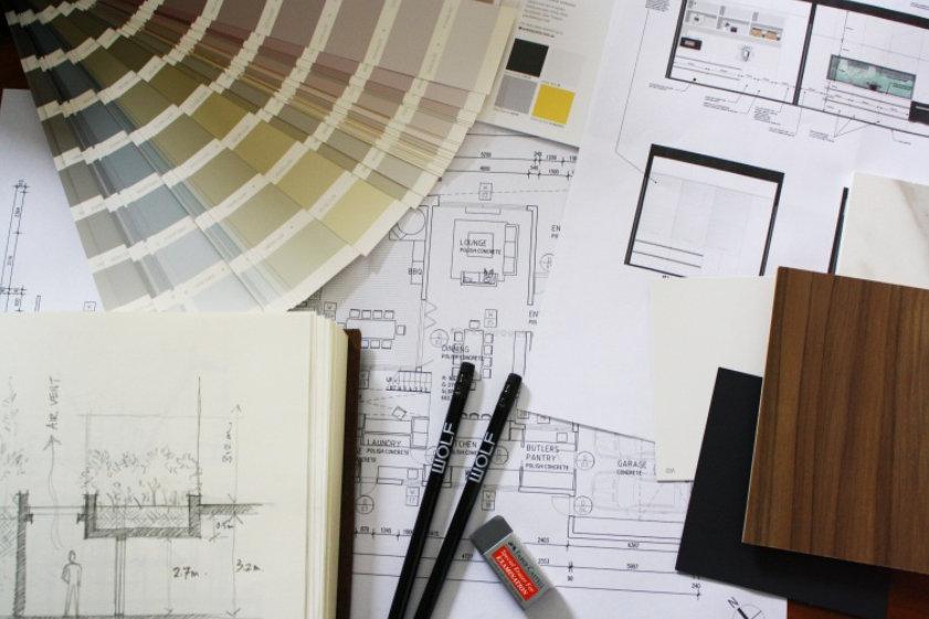Interior design samples