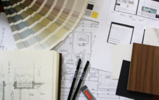 Samples for interior design