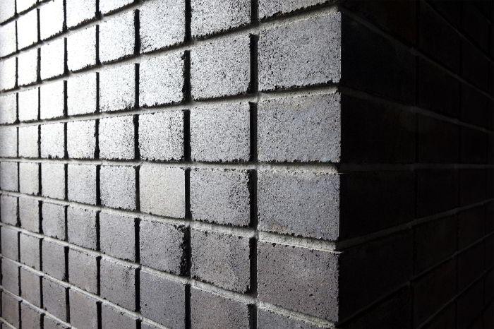 black angus bricks close up