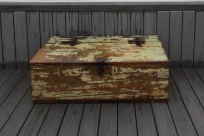 weathered yellow box