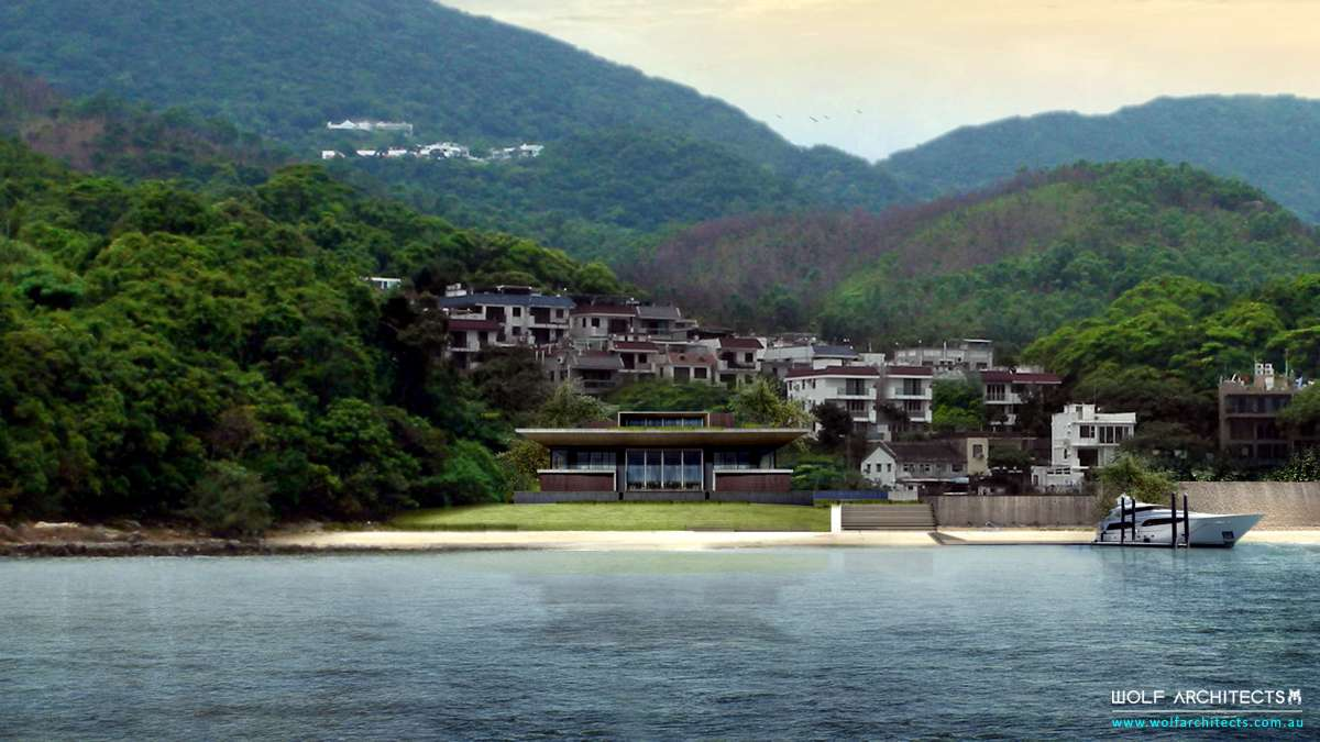 Hong Kong Bay view beach house