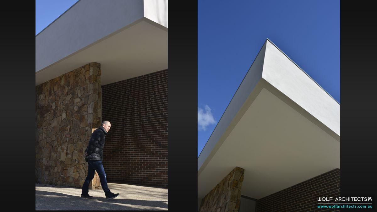 Heathmont house exterior details