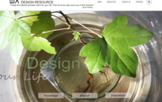 Wolf Architects Design Resource homepage screenshot