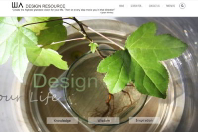 Wolf Architects Design Resource homepage screenshot