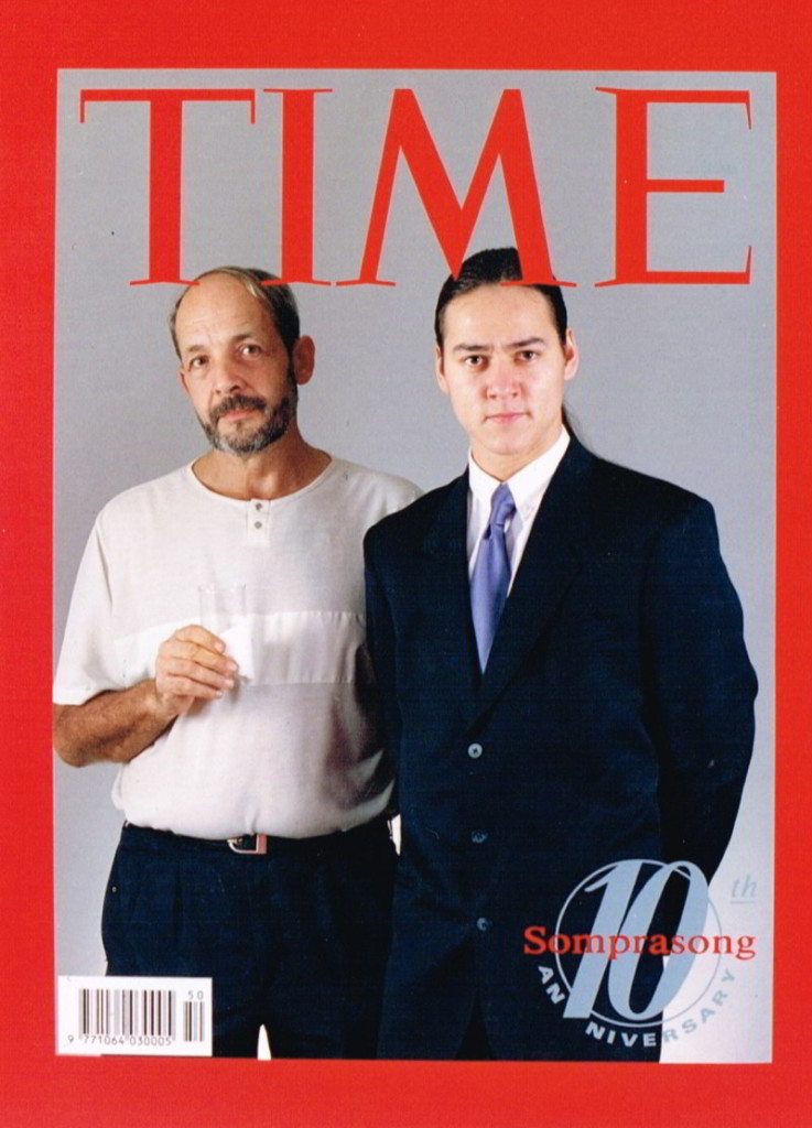 Time magazine Somprasong 10th anniversary with Taras Wolf and Joe Zly