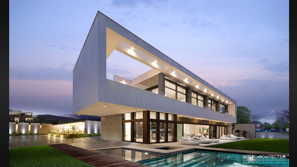 Wolf Architects featured project Super Villa