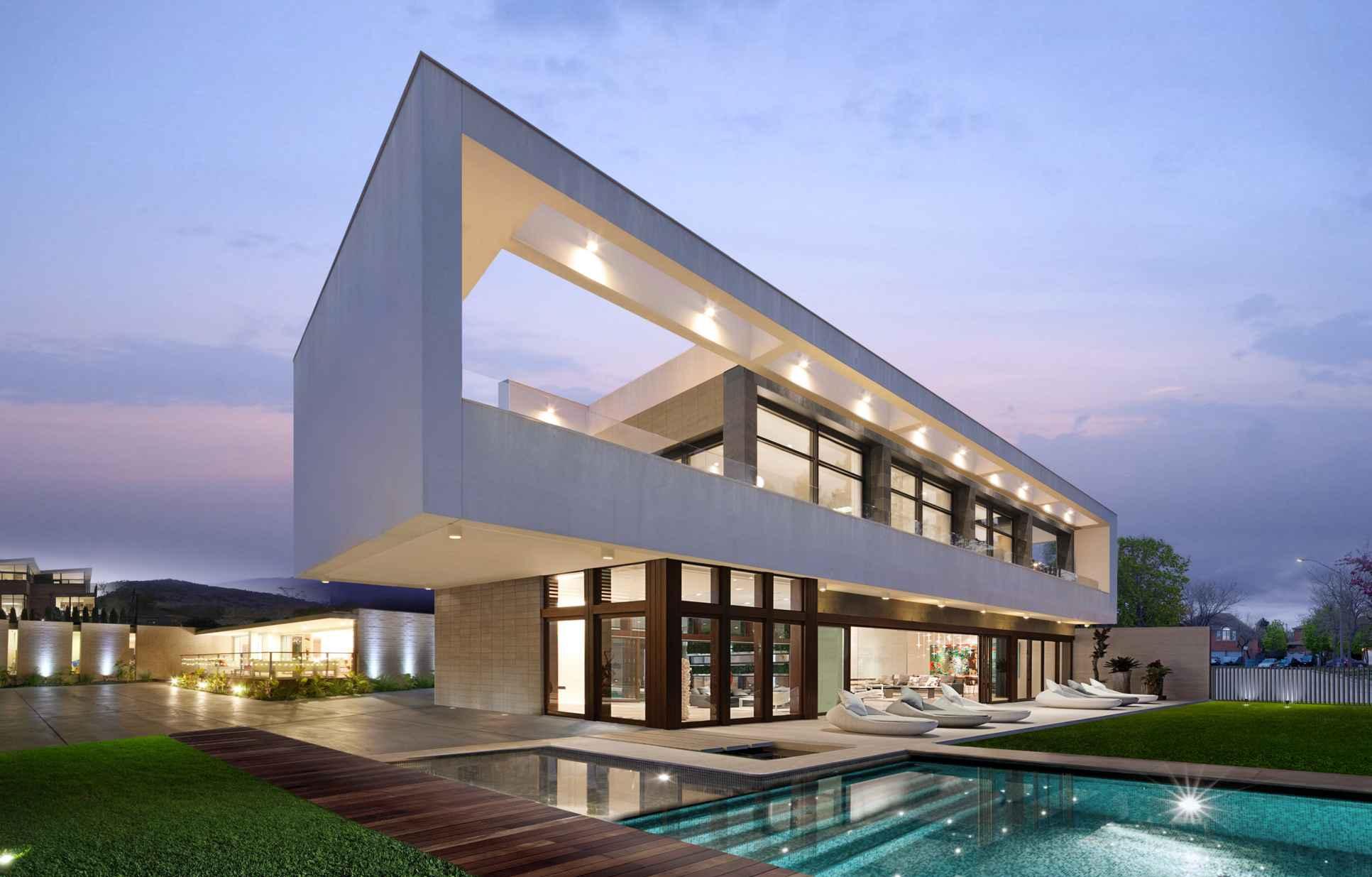 Wolf Architects modern super Villa dream home