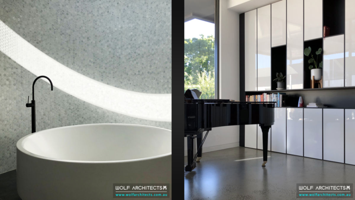 Koay housemaster bathroom and piano room