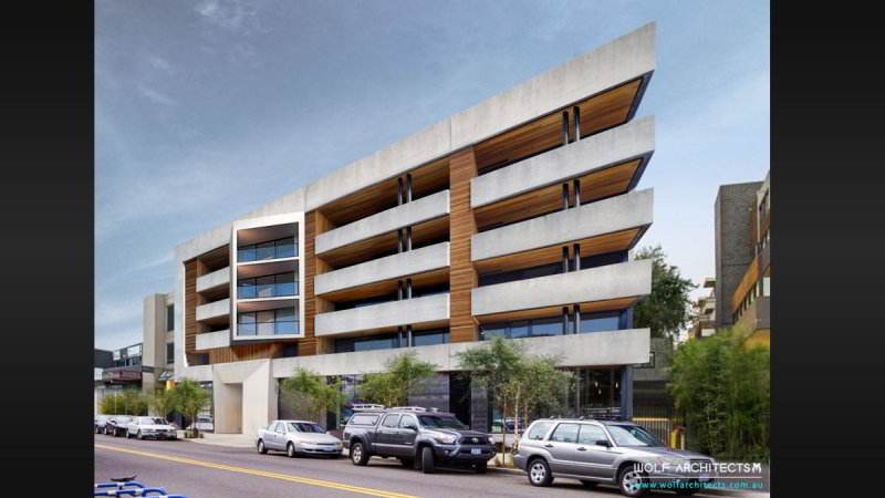 Modern Apartment development