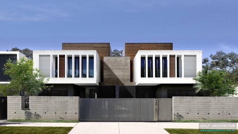 Modern Townhouse development