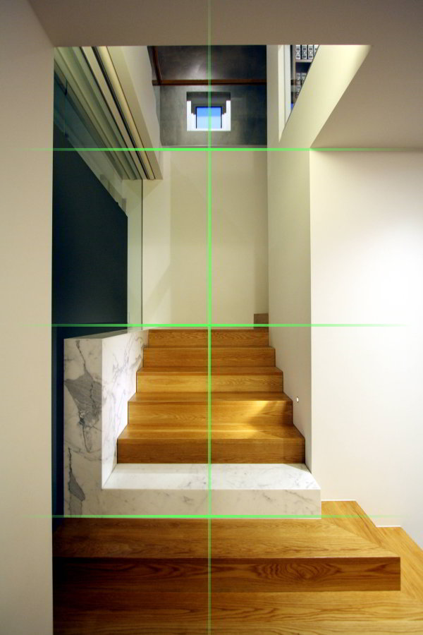 centred stairs